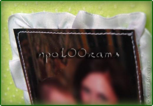 Заказали мне недавно обложку для свадебного альбома пожеланий.Именно обложку,т.к. листы будет оформлять сам хозяин салона.Условия-обязательно фото и должен присутствовать зелёный цвет.Почему?Да потому что свадьба будет в зелёном стиле. фото 3