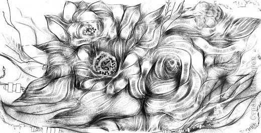 Мой рисуночек:-) Рисование -отдых! Нади меня (не девушку, а кое-кого другого) фото 3