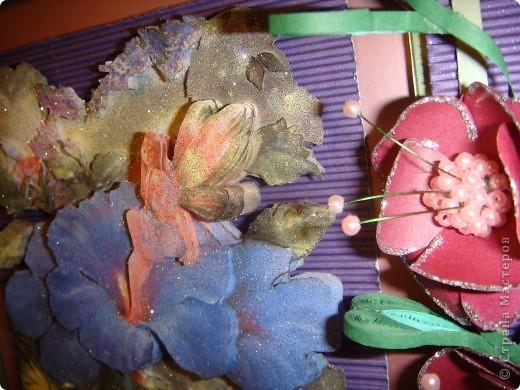 Захотелось сделать что-то сказочное и фиолетово-сиреневое.  фото 15