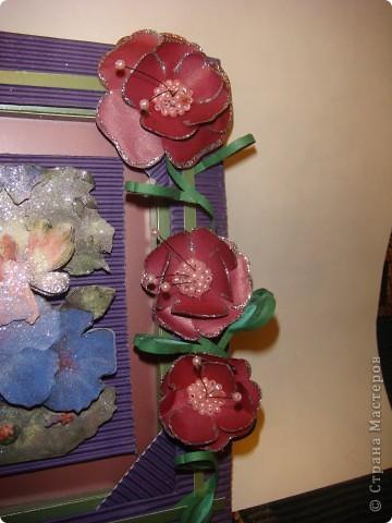 Захотелось сделать что-то сказочное и фиолетово-сиреневое.  фото 14