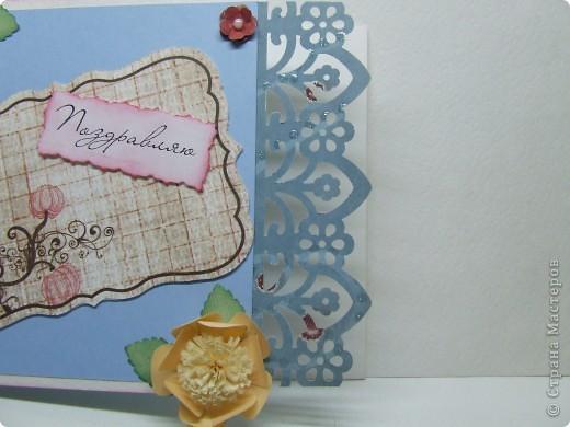 Эта открытка была сделана по скетчу с этого сайта http://sasya-sketches.blogspot.com/ фото 5