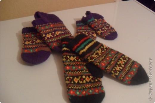 Усть-Цилемские носки. фото 2