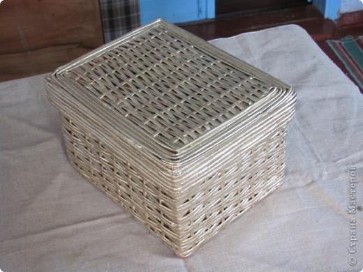 Овальная корзинка. фото 3