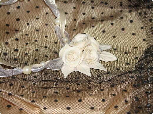 Свадебное украшение в ретро стиле фото 3
