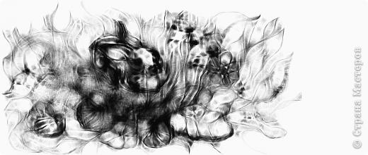 Мой рисуночек:-) Рисование -отдых! Нади меня (не девушку, а кое-кого другого) фото 2