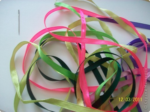Вышивка лентами фото 2