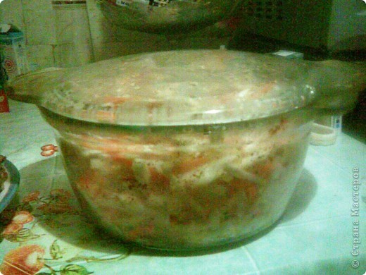 корень сельдерея Морковь Лук Корень пастернака Филе рыбы (не жирное)  Все режим соломкой, солим, приправляем,  добавляем немного подсолнечного масла.  фото 2