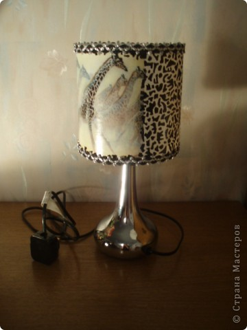 Общий вид лампы фото 1