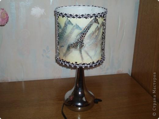 Общий вид лампы фото 3