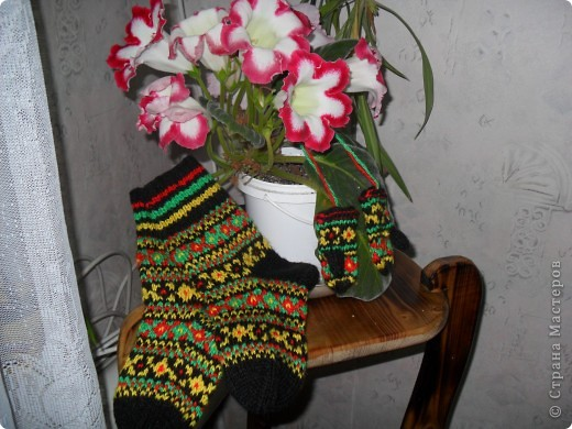 Усть-Цилемские носки. фото 3