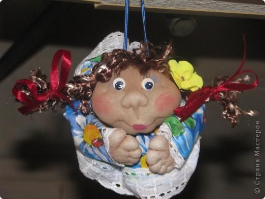 Вот такие первые куколки у меня получились...)) фото 1