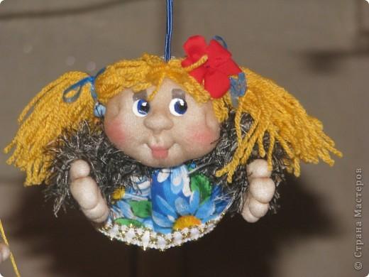 Вот такие первые куколки у меня получились...)) фото 4