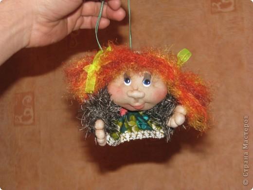 Вот такие первые куколки у меня получились...)) фото 2