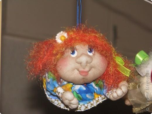 Вот такие первые куколки у меня получились...)) фото 6
