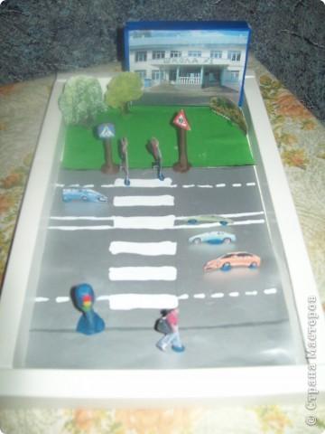 Поделка на дорожные знаки