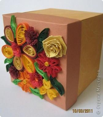 Такие коробочки мне нравится делать вместо открыточек. фото 3