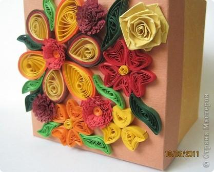 Такие коробочки мне нравится делать вместо открыточек. фото 1