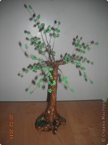 Бисерные деревья. фото 5