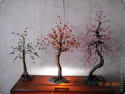 Бисерные деревья. фото 1