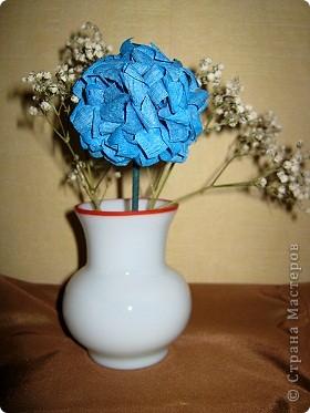 Давно хотела попробовать сделать соцветие гортензии. фото 6