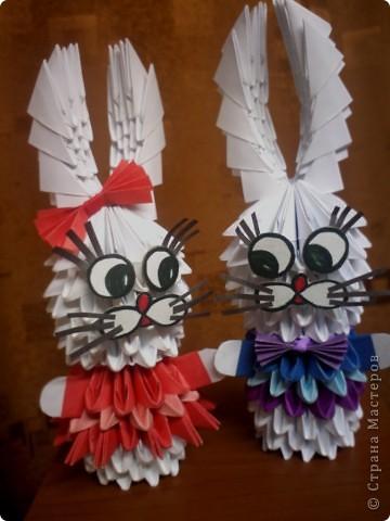 Вот какие зайчики наконец-то получились.. Хотела сделать к Новому году.. но руки не дошли Сделала только в феврале фото 4