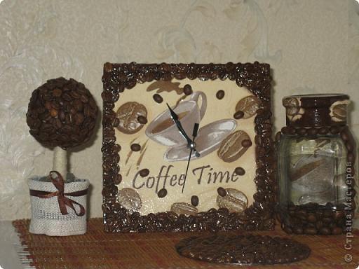 Вот такой кофейный наборчик я сделала в подарок на 8 марта своей сестричке!!! фото 1