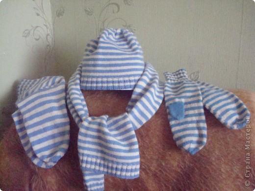 Вот такой получился комплект из старых двух свитеров. Наверное первый и последний. Очень кропотливая и монотонная робота, не для меня. Терпения не хватает. Завидую тем, кто может связать большую вещь.
