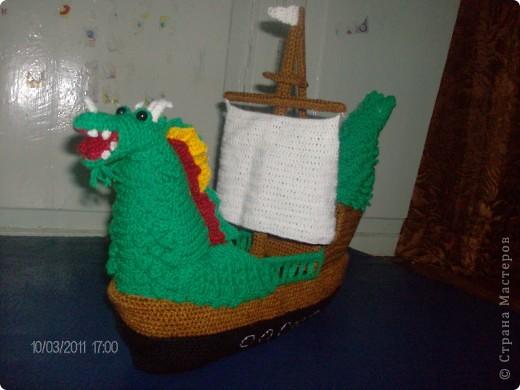 Корабль-дракон. фото 2