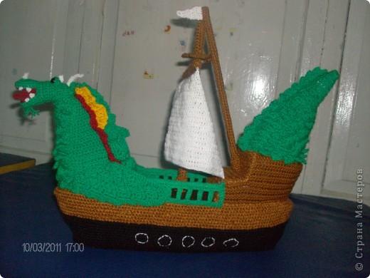 Корабль-дракон. фото 3