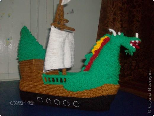 Корабль-дракон. фото 4