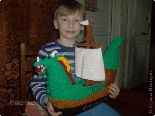 Корабль-дракон. фото 1