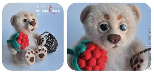 Мишка с малиной фото 2