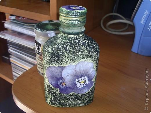 Первая бутылочка, используется под масло на даче фото 1