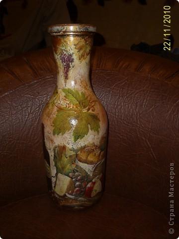 Первая бутылочка, используется под масло на даче фото 9