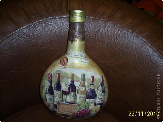 Первая бутылочка, используется под масло на даче фото 16