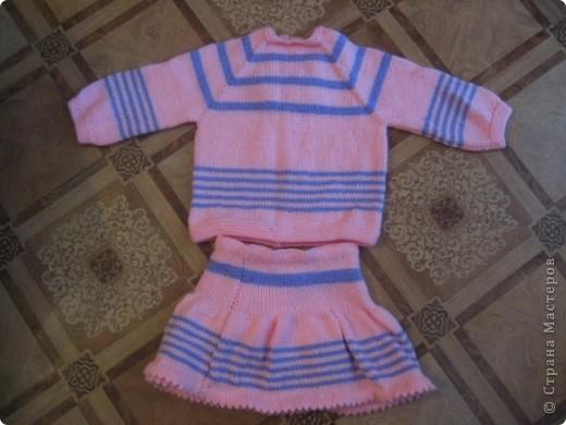 свитерок и юбчонка  фото 2