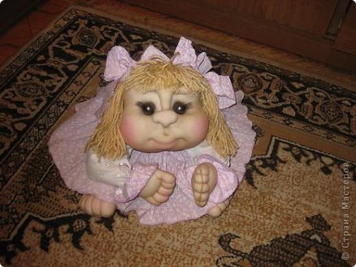 Дорогие мастерицы,сшила еще одну куклу на удачу!Шить их одно удовольствие!!!Спасибо Pawy за МК! фото 3