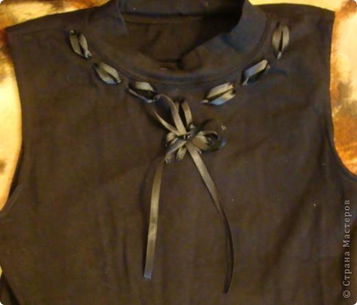 украшение лентами одежды