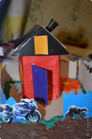 вот такие домики задумали сделать мои дети и вот какие они получились.. фото 3