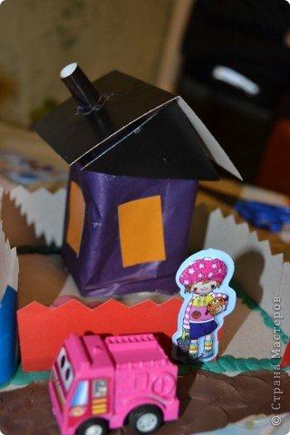 вот такие домики задумали сделать мои дети и вот какие они получились.. фото 4