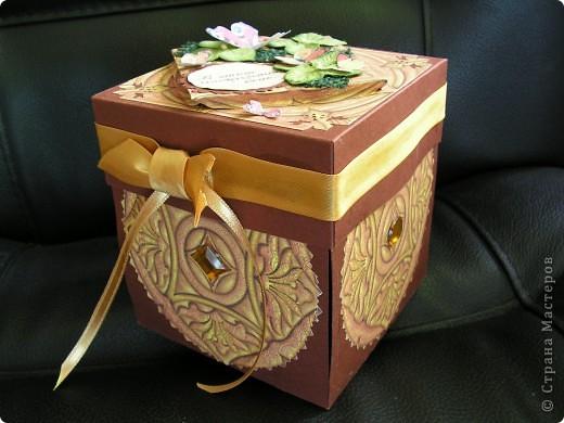 коробочка-открытка 2 фото 1