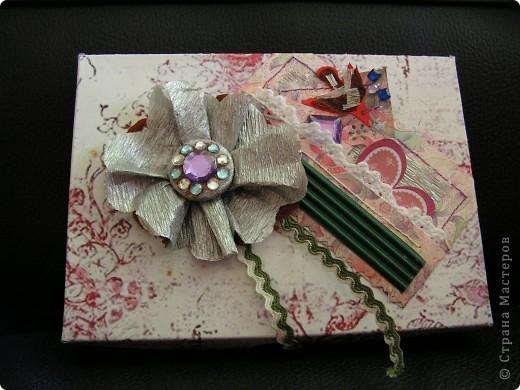открытка + коробочка к ней фото 1
