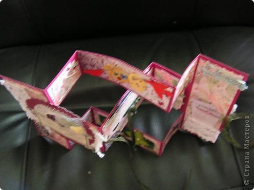 открытка + коробочка к ней фото 5