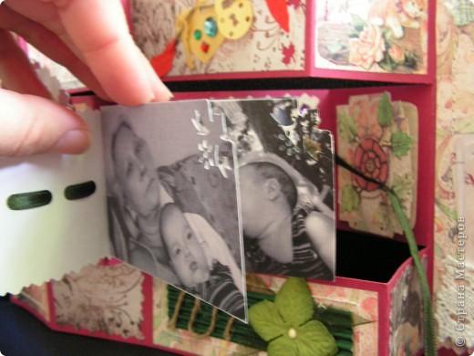 открытка + коробочка к ней фото 7