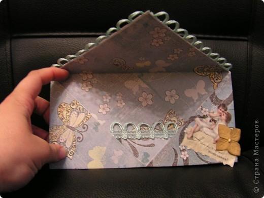 конвертик для денег фото 2