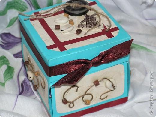 коробочка-открытка фото 1