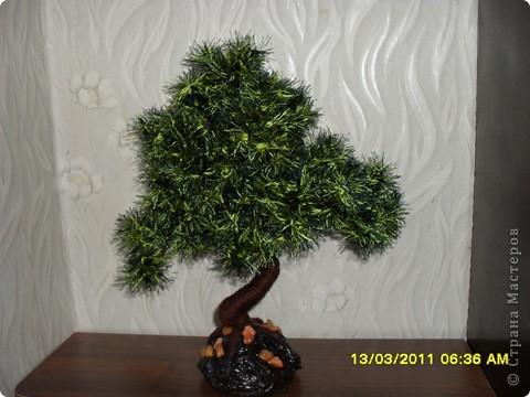 Дерев о из ниток, спасибо за мастер-класс автору статьи Юлия Часовских. фото 1