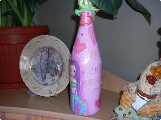 Эта бутылочка подарена девочке на 12 лет. фото 2