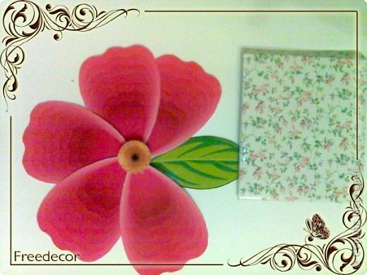 """Создание открытки (Papercraft) """"Весенняя свежесть"""""""