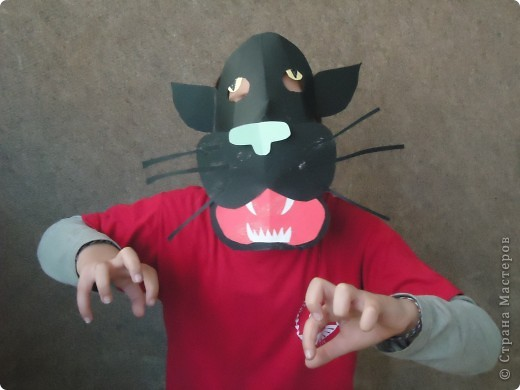 Черные пантеры и другие бумажные маски... фото 8